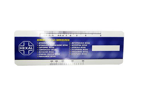 Линейка с комнатным термометром