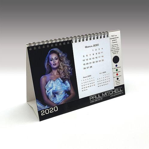 Календарь настольный с индикатором стресса.