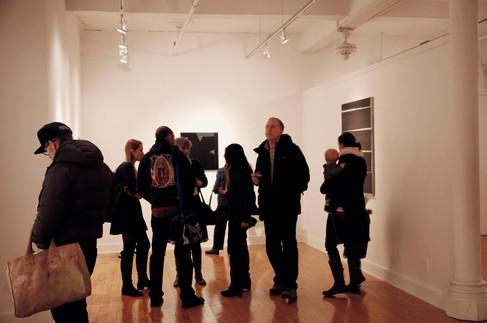 'Painting Black' Po Kim Gallery