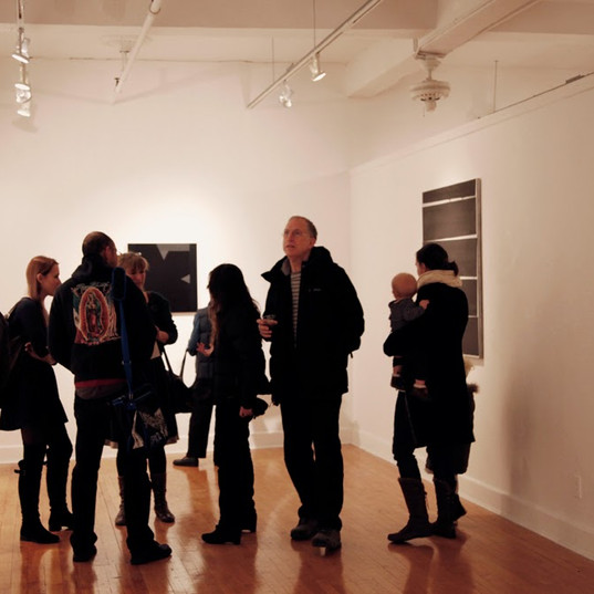Painting Black, The Sylvia Wald and Po Kim Gallery