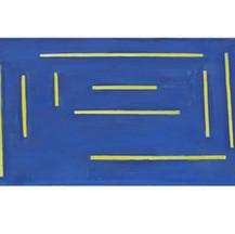 geel : blauw