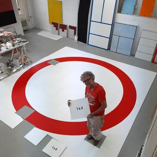 '143'  in studio  (foto E. Dijkstra)