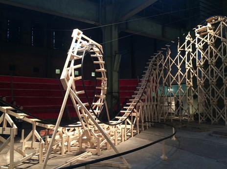 VOLTA, roller coaster (i.s.m. Oscar Peters) Den Haag