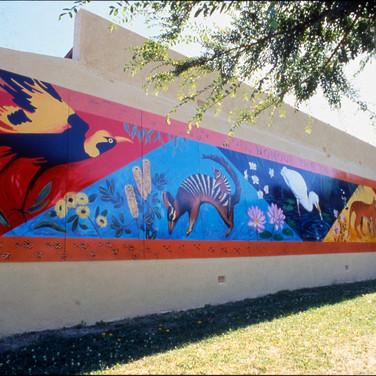 Honour the Earth, Bicentennial Mural, Melbourne, 1988