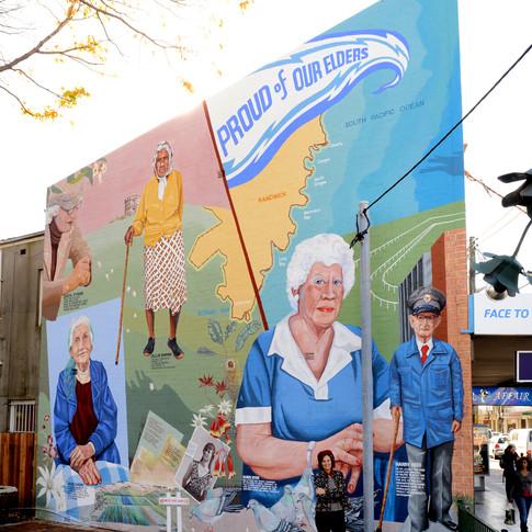 Proud of Our Elders, Randwick NSW, 1981. Restored 2012