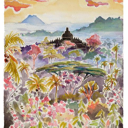20. Borobudur, 28x19cm