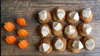 Pumpkin Thumbprints