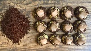 Chocolate Sprinkle Thumbprints
