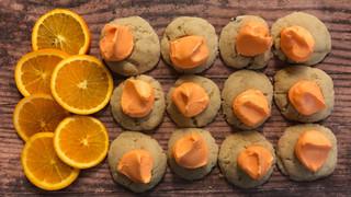 Orange Thumbprints