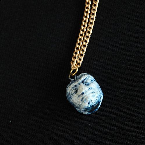 Blue Aztec Pendant