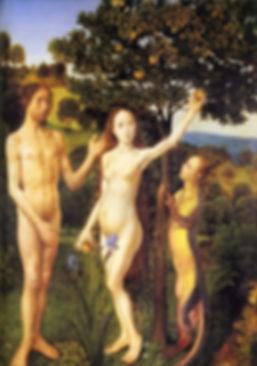 The Fall of Adam and Eve, Hugo van der G
