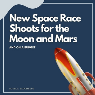 New Space Race Shoots for the Moon and Mars