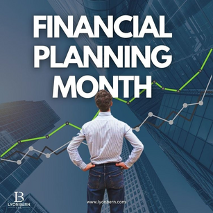 FINANCIAL PLANNING MONTH!