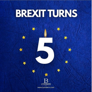 Brexit Turns 5