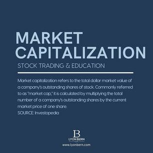 WHAT IS MARKET CAPITALIZATIONS?