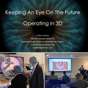Optometrist Education Night with 3D Eye Surgery