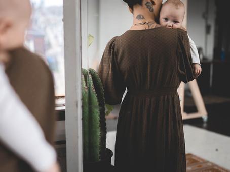 A Motherhood Session—with Kasha + Memphis.
