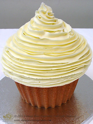 Simple Giant Cupcake