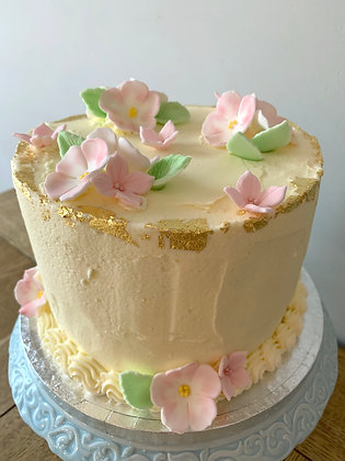 "Vintage Briar Rose 6"" Cake"