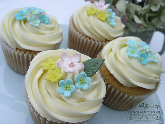 6 Spring Time Collection Cupcakes