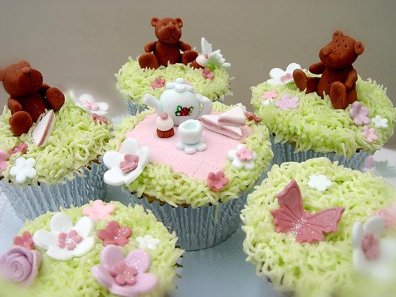 6 Enchanted Teddy Bears Picnic Set