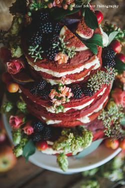 Maid of Kent Red Velvet - Naked Cake
