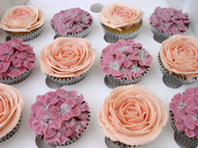 Vintage Rose cupcake collection