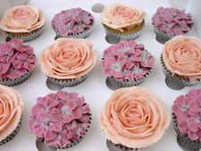 Vintage Rose cupcake collection