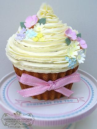 Giant Flower Cupcake