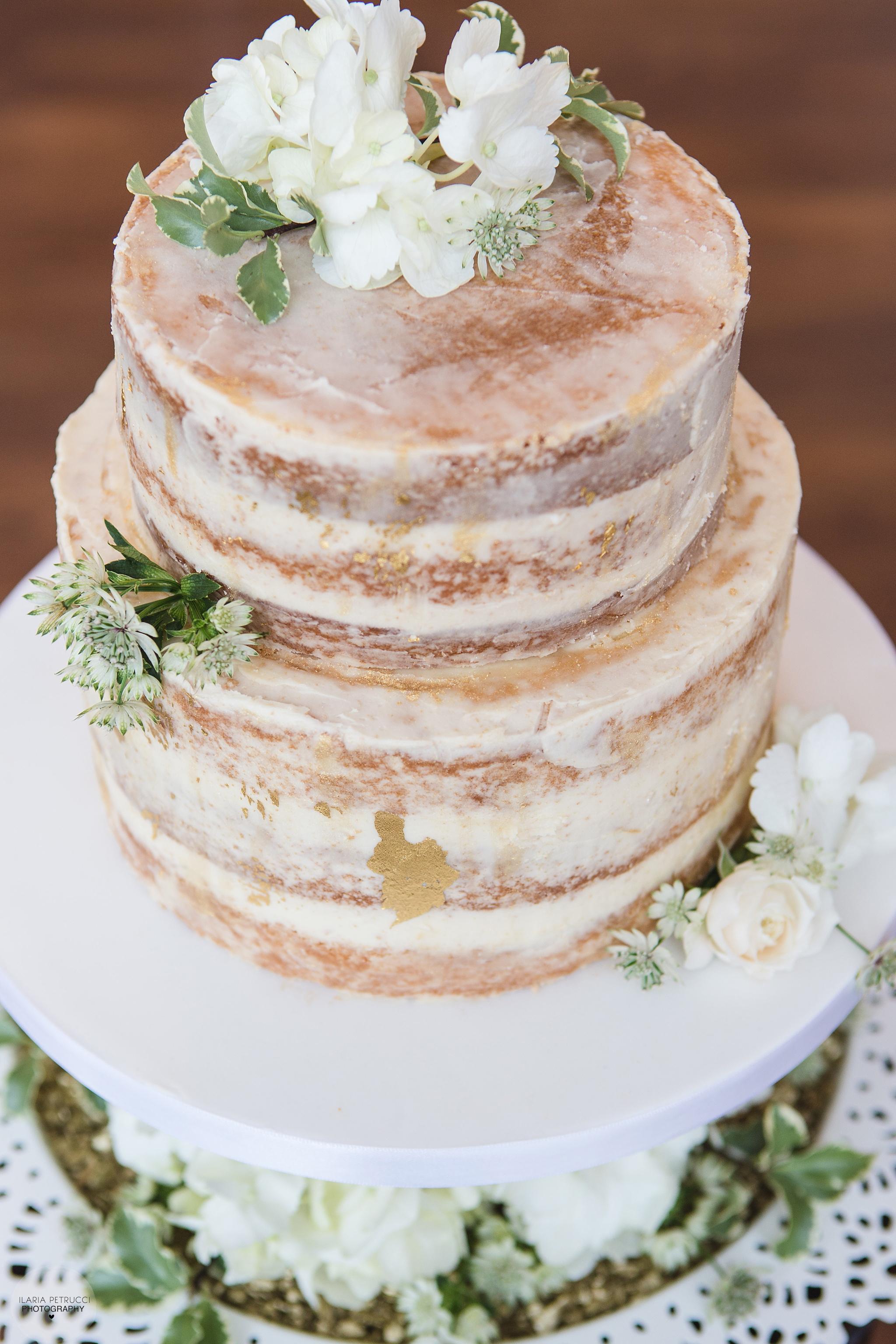 Froyle Park Semi Naked Cake