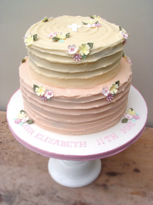 Two tier buttercream