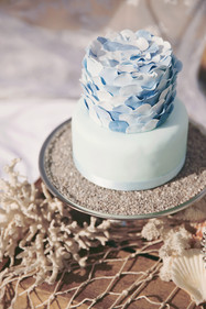 Nautical Beach buttercream