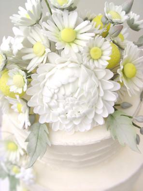 Daisy Wedding Cake