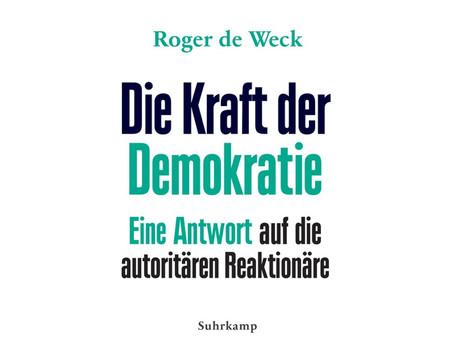 Un nouveau livre de Roger de Weck