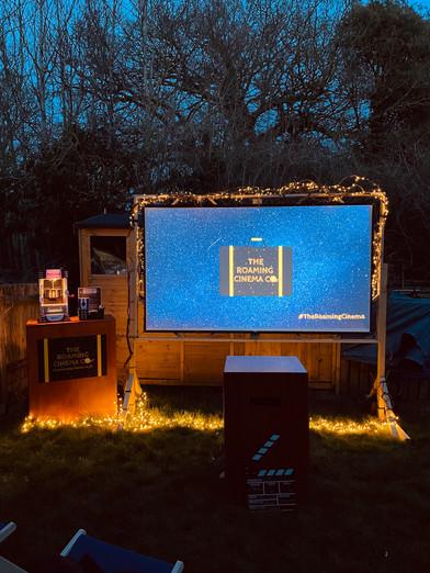 Enchanted Garden Screen