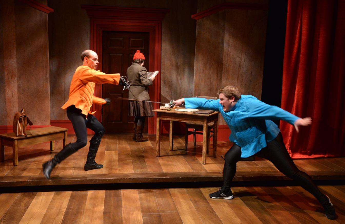 Romeo vs Tybalt