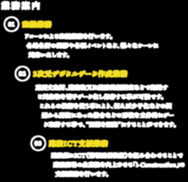株式会社サーデック,SURDEC,業務案内