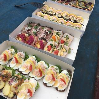 Traditional Danish Lunch