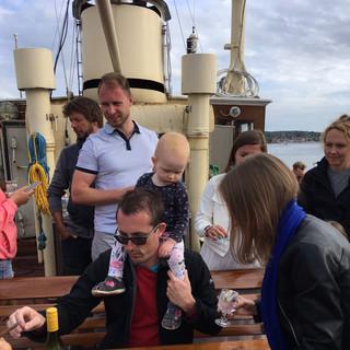 Back in Svendborg Harbor after a fantastic day.