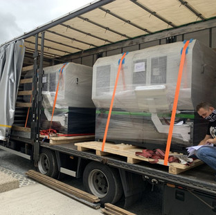 Machines Being Shipped