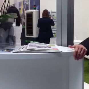 VIKING/SMS Booth at EMO