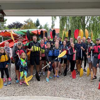 VIKING Team Kayak Trip
