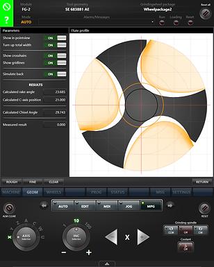 VIKING Wheel Profile Generator Screen View