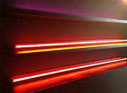 Neon Light Shelves
