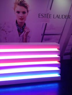 White Lacquered & Neon Reception