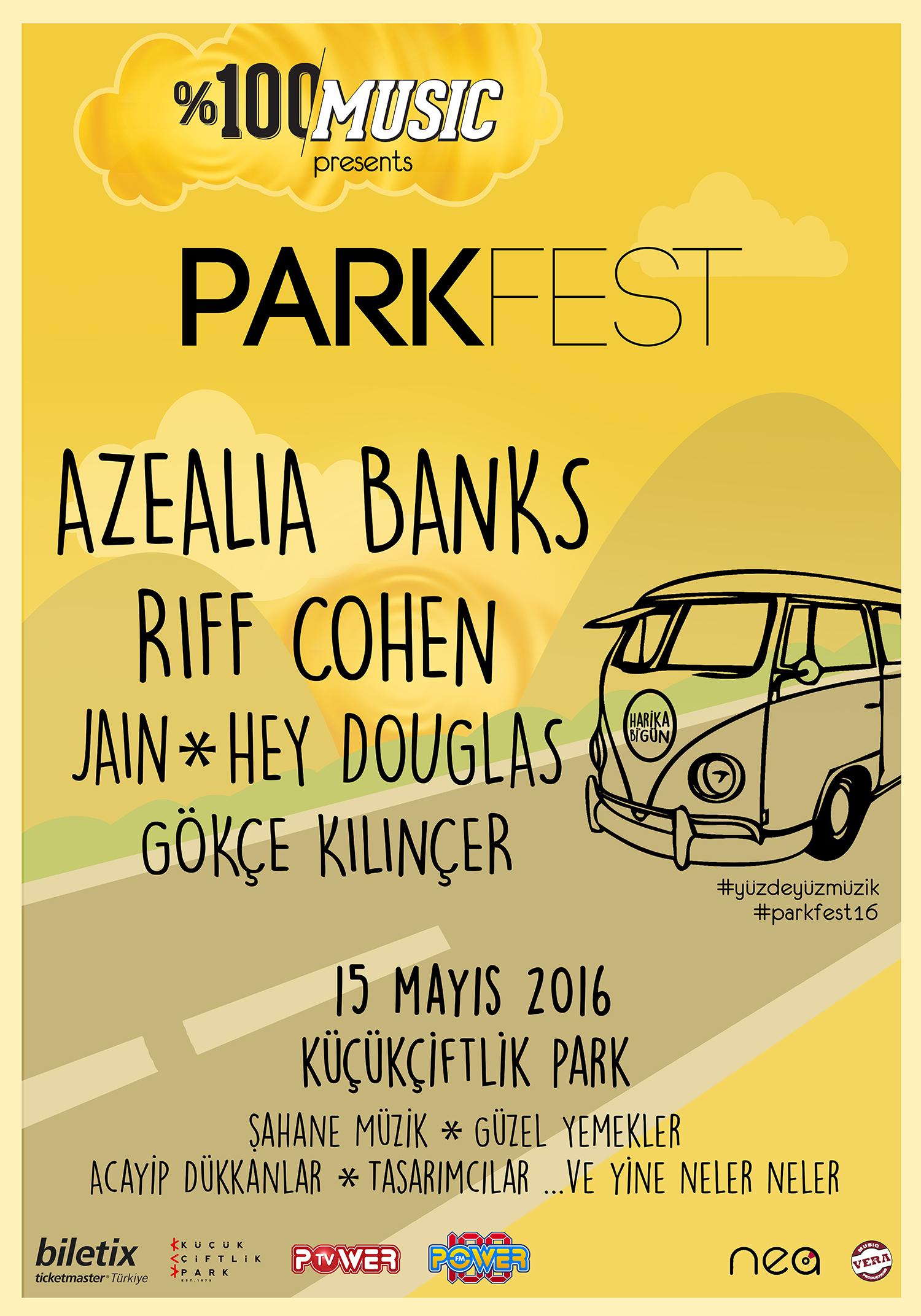 parkfest poster