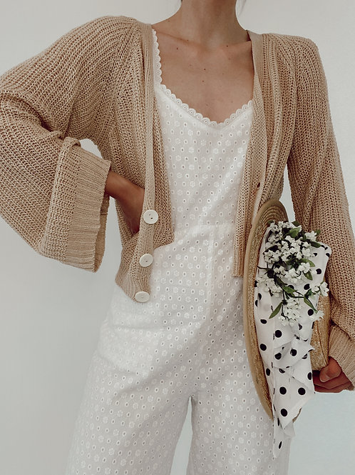 Springtime in the Meadow Cropped Cardigan