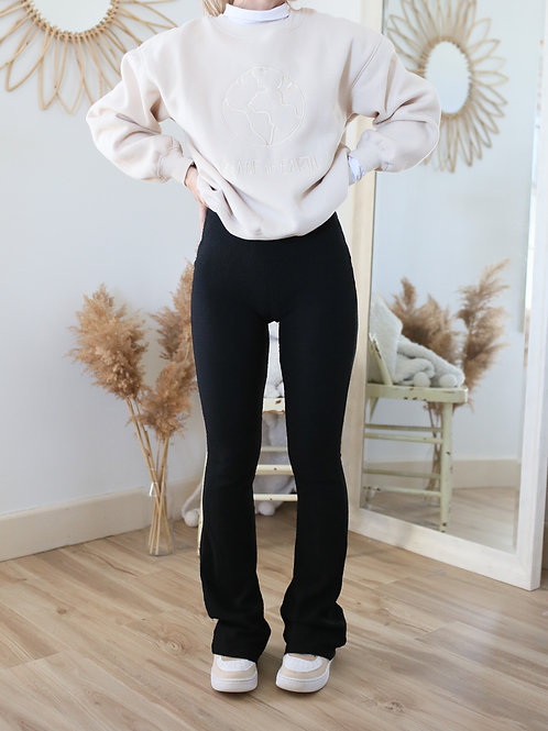 Downtown Knit Flared Pant