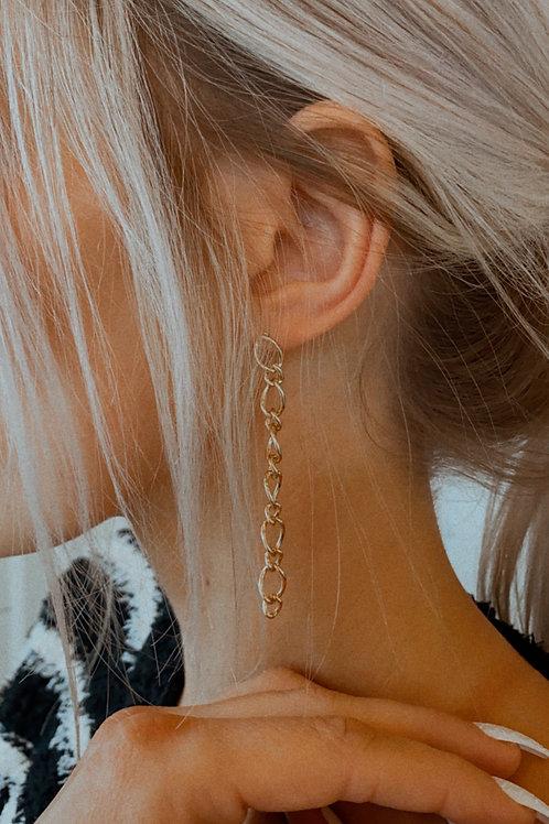 Dainty Chain Dangle Earring