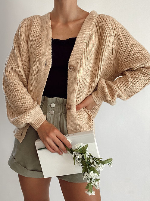 Waiting for the Weekend Cropped Cardigan
